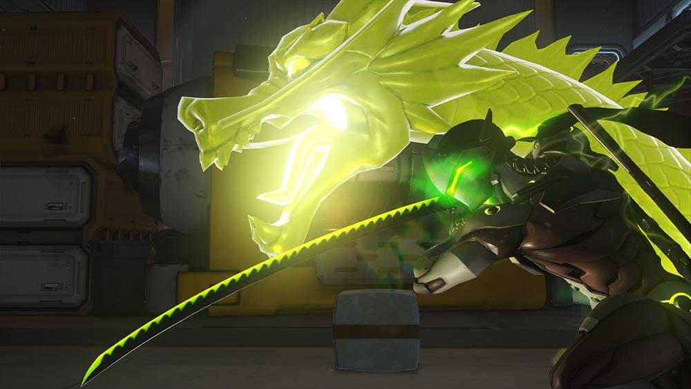 龍神剣を構えるゲンジ