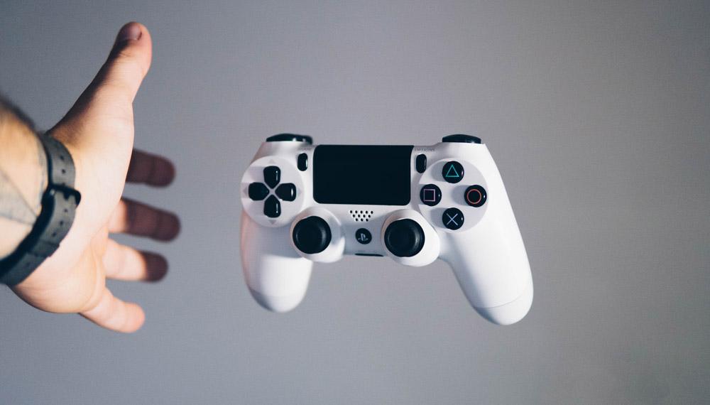 PS4コントローラーイメージ