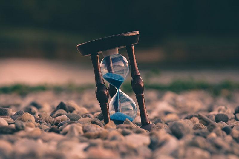 砂時計・時間イメージ